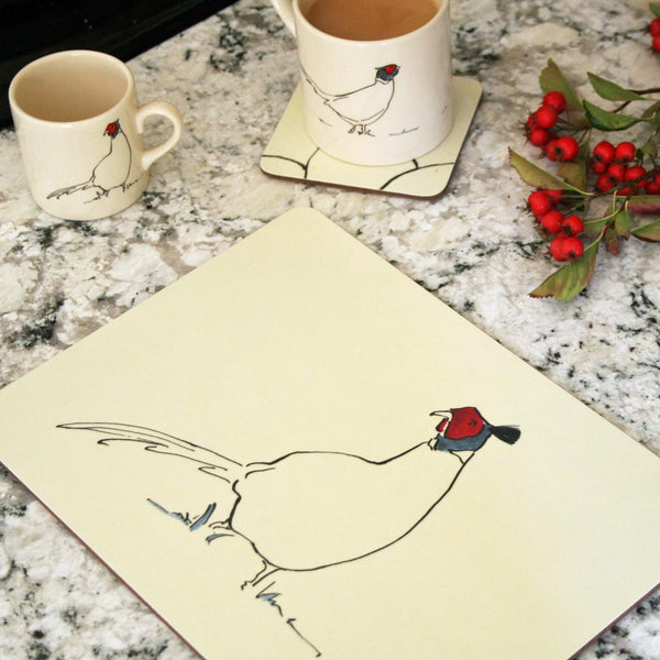 Pheasant Placemats & Coasters