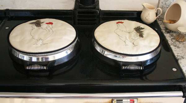 Cockerel Herk Hob Covers Aga pads