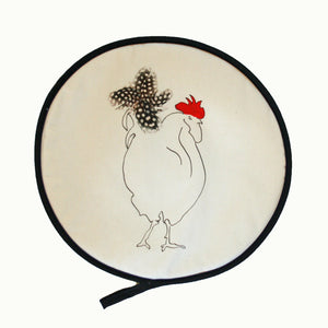 Cockerel Herk Circular Aga / Chef pads