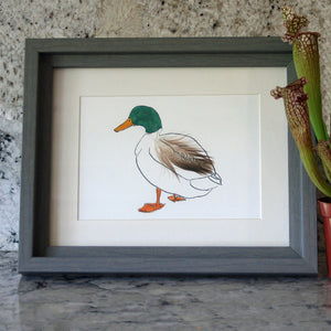 Jemima Duck Mini Print