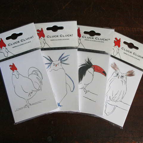 A7 magnetic note pads from Cluck Cluck