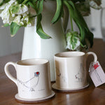 Load image into Gallery viewer, Pheasant mug from Cluck Cluck!