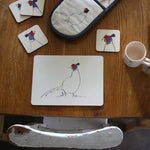 Load image into Gallery viewer, Pheasant tablemats from Cluck Cluck set of 4
