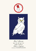 Load image into Gallery viewer, Midnight Owl Apron