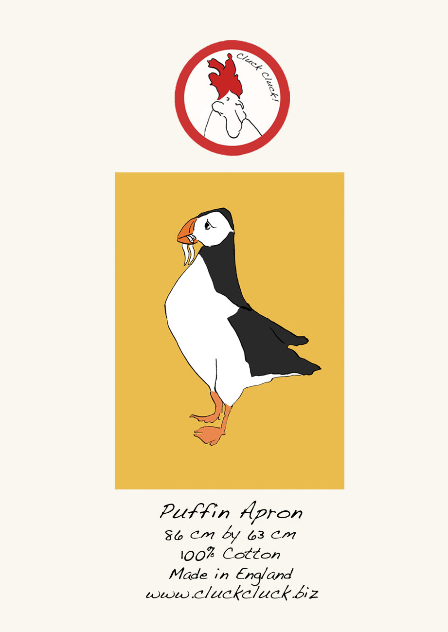 Puffin Yellow Apron