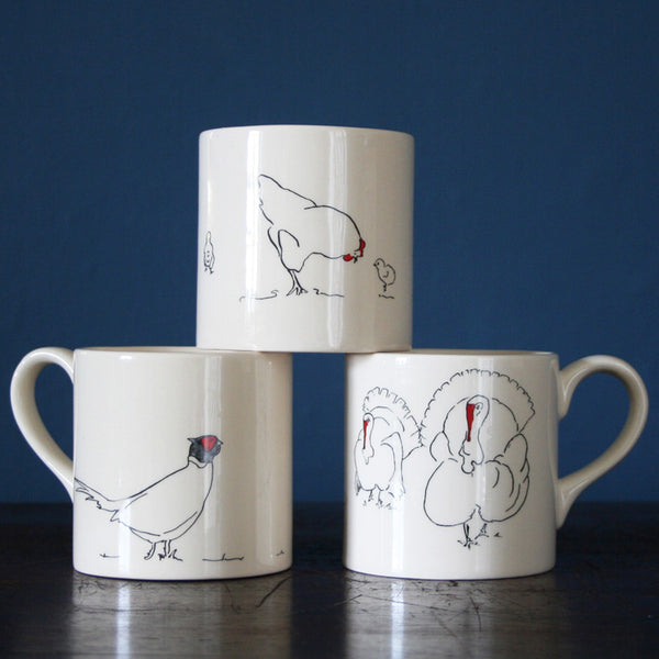 Mugs from Cluck Cluck