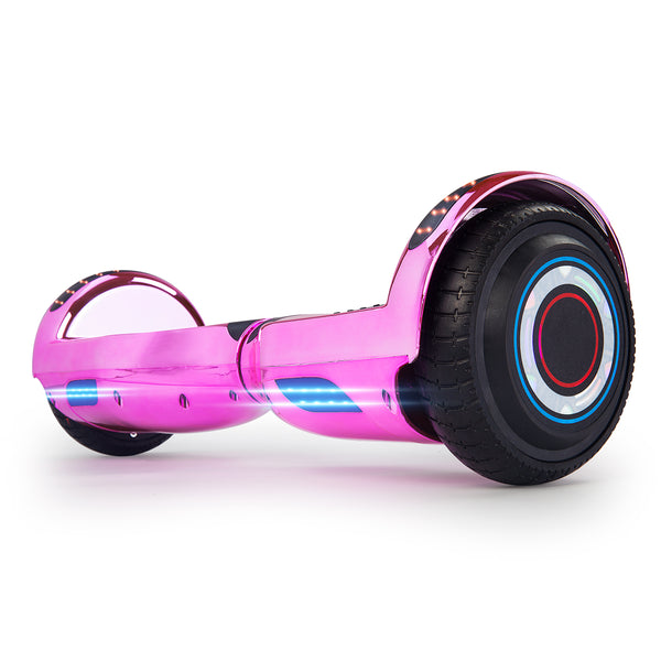 "XPRIT 6.5"" Classic Hoverboard, Chrome Pink"