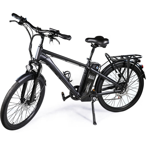 XPRIT 26'' Electric Mountain Bicycle, Light Weight, LCD Display, Full Throttle/Pedal Assist