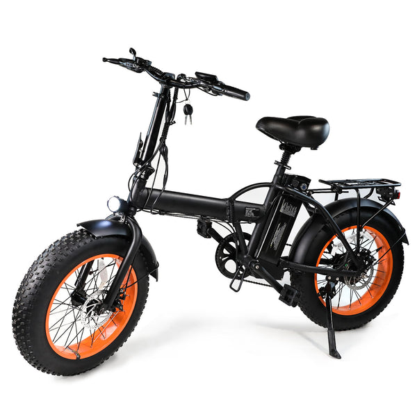 XPRIT 20'' Folding Electric Bicycle, Light Weight, LCD Display, Full Throttle/Pedal Assist