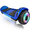 "XPRIT 6.5"" Hoverboard Self-Balance Two Wheel w/Built-in Wireless Speaker-Blue"