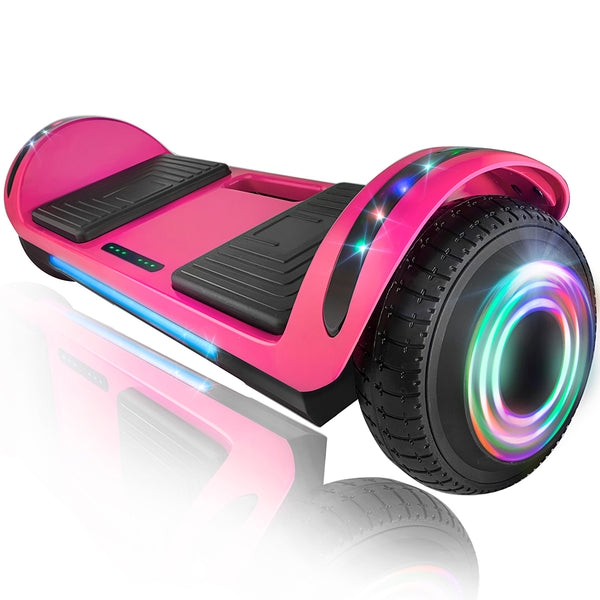 "XPRIT 6.5"" Hoverboard Self-Balance Two Wheel w/Built-in Wireless Speaker-Pink"