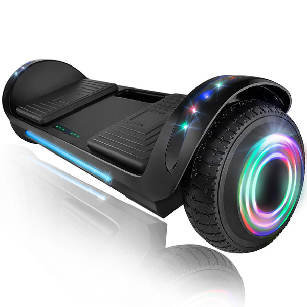 "XPRIT 6.5"" Hoverboard Self-Balance Two Wheel w/Built-in Wireless Speaker-Black"