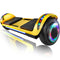 "XPRIT 6.5"" Hoverboard Self-Balance Two Wheel w/Built-in Wireless Speaker-Chrome Gold"