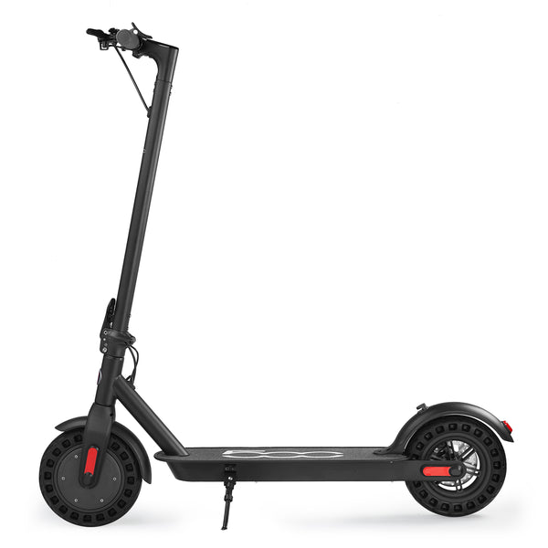 "XPRIT 10"" Electric Kick Scooter w/Three Speeds, Long Lasting Battery, Dual Safety Breaking System (Black)"