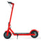 "XPRIT 10"" Electric Kick Scooter w/Three Speeds, Long Lasting Battery, Dual Safety Breaking System (Red)"