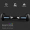XPRIT Hoverboard Black, Space LED Wheel UL2272 Certified