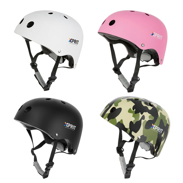 XPRIT Kids/Adults Protection Helmet For Scooter, Hoverboard, Skateboard and Bicycle.