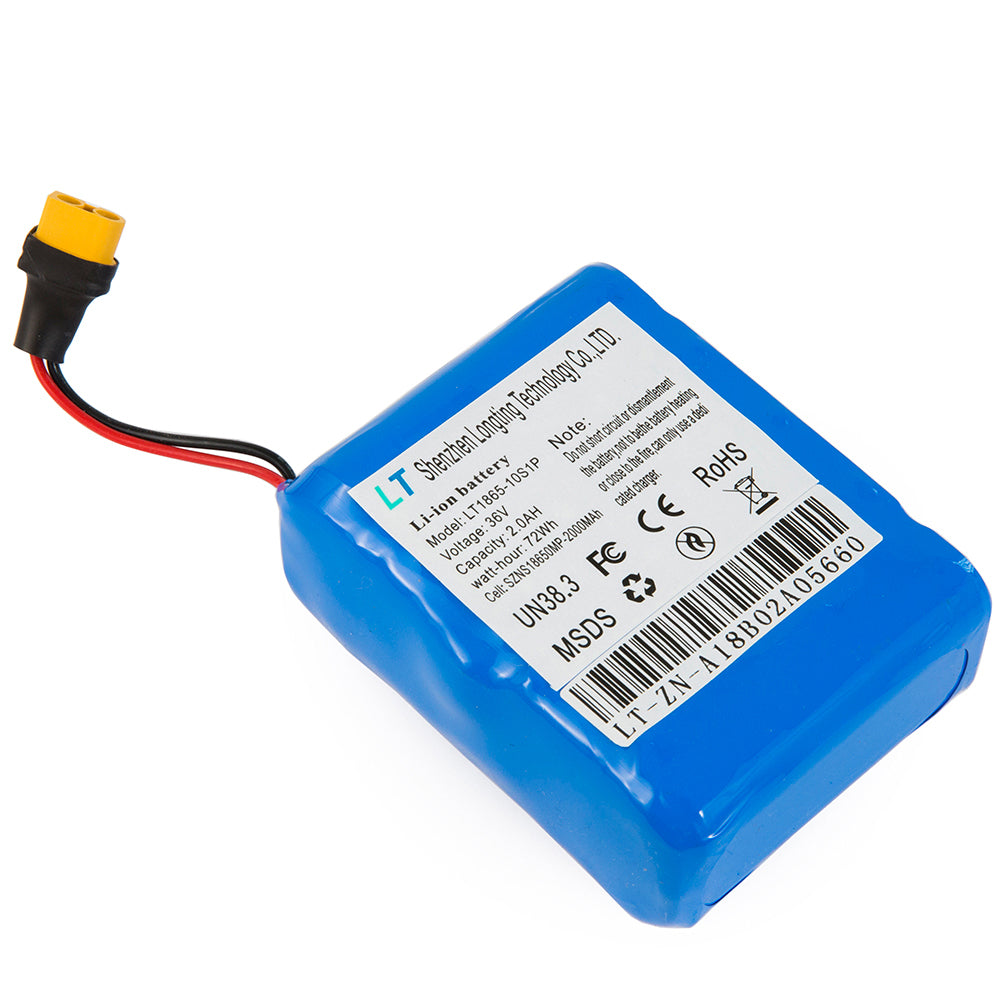 36V 2Ah Hoverboard Battery Replacement