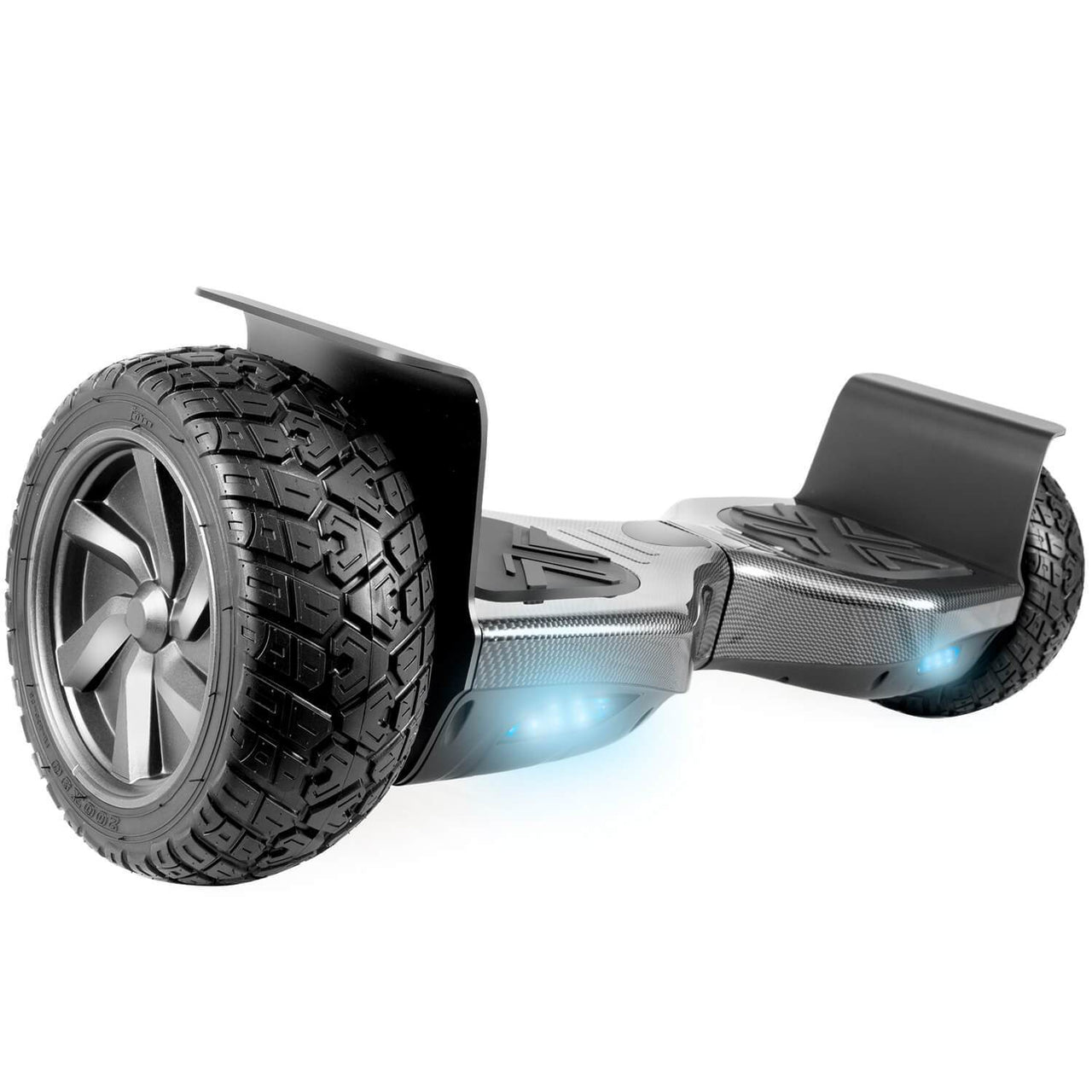 "XPRIT 8.5"" Wheels Carbon Fiber Off Road Hoverboard with UL2272 Certied"