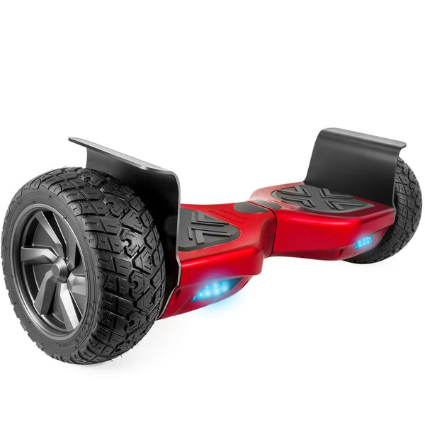 "XPRIT 8.5"" Wheels Red Off Road Hoverboard with UL2272 Certified"