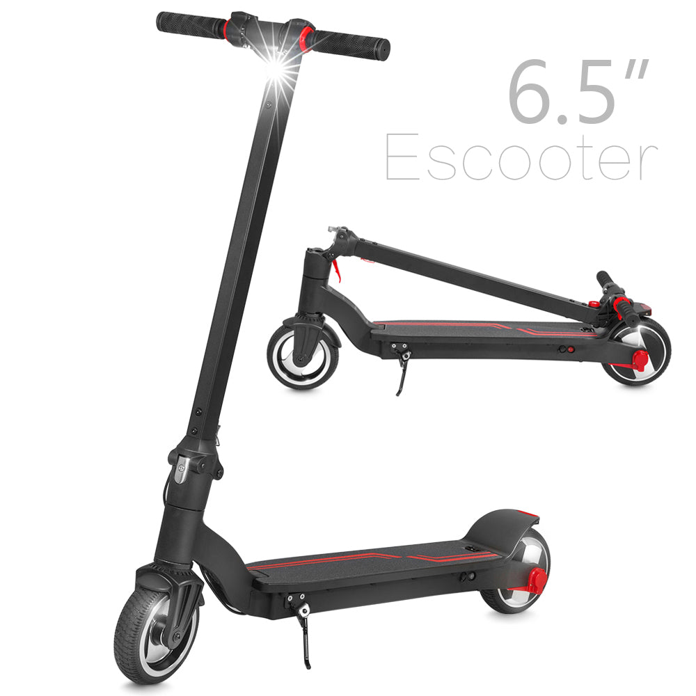 "Folding Electric Kick Scooter w/ 6.5"" Wheel"