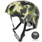 XPRIT Kids/Adults Protection Helmet For Scooter, Hoverboard, Skateboard and Bicycle. Camouflage Large