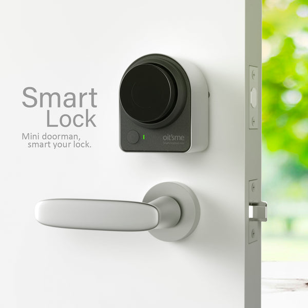 XPRIT Oit'sme Smart Deadbolt Door Lock - Silver