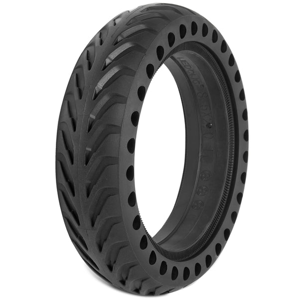 "XPRIT Solid Tires 8.5 Inches Electric Scooter Wheels Replacement Tire 8-1/2'' Front or Rear Honeycomb Tires for 8.5"" Scooter, Black"