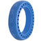 "XPRIT Solid Tires 8.5 Inches Electric Scooter Wheels Replacement Tire 8-1/2'' Front or Rear Honeycomb Tires for 8.5"" Scooter, Blue"