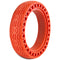 "XPRIT Solid Tires 8.5 Inches Electric Scooter Wheels Replacement Tire 8-1/2'' Front or Rear Honeycomb Tires for 8.5"" Scooter, Red"