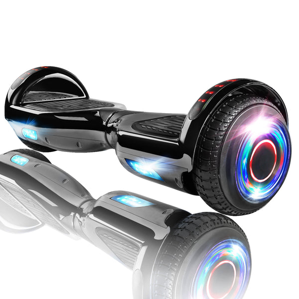 "XPRIT 6.5"" Black Hoverboard UL2272 certified with Wireless Speaker Free Shipping."