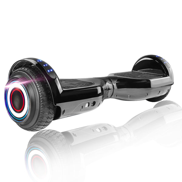 "XPRIT 6.5"" Classic Hoverboard, Chrome Black"