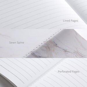 A5 Sewn Spine Notebook + Drawing Book Bundle — Venice