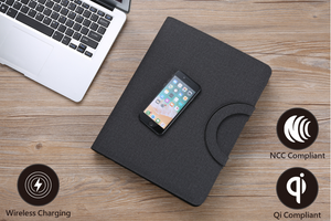 A4 Wireless Charging Padfolio SET