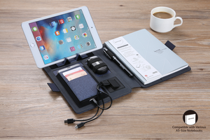 FLASH Deal: High Tech Wireless Charging Bookfolio (A5) Value Pack (By Invitation)