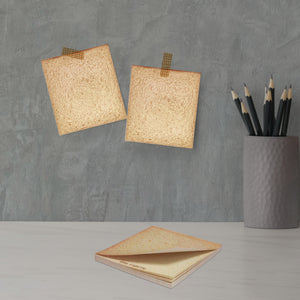 Square Bread Memo Pad