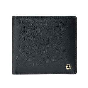 Stone Men's Wallet, black.