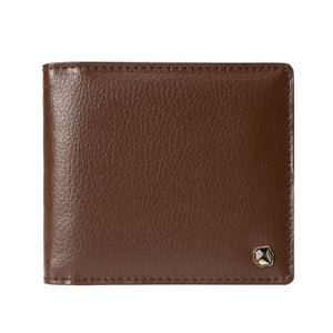Stone Men's Wallet, brown.