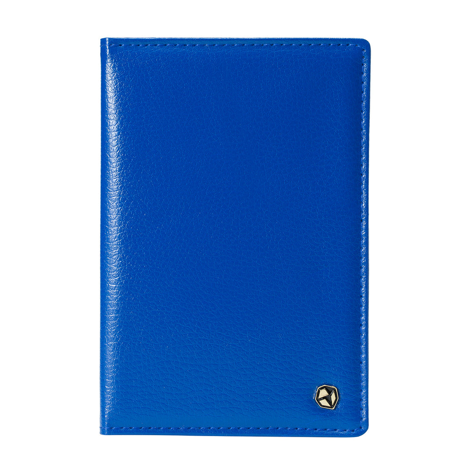 Stone Passport Wallet, blue.
