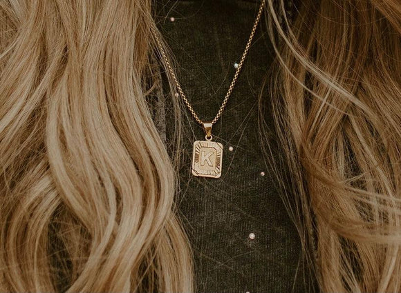 The Olivia Initial Necklace
