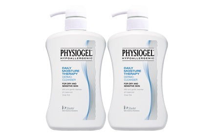 FREE SHIPPING! Physiogel Skin Cleanser 900ml TWIN PACK OFFER - SAVE $17.45