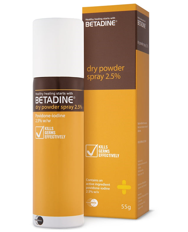 Betadine Dry Powder Spray 55g