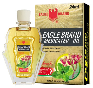 12 X Eagle Medicated Oil Refresh 3ml.For giddinessheadache