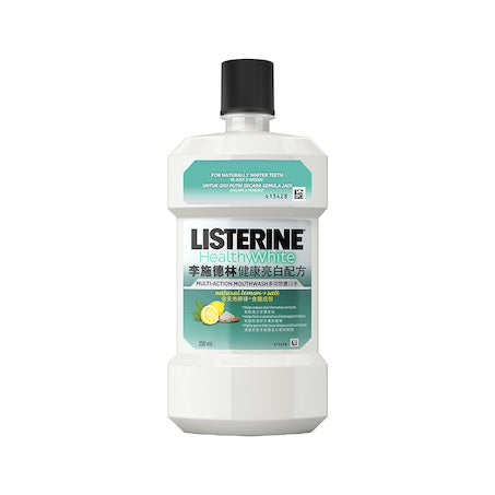 Listerine Healthy White 250ml