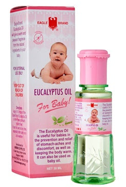 Bundle of 6 X Eagle Eucalyptus Oil For Baby 30ml