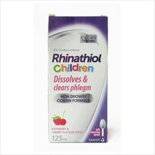 RHINATHIOL CHILDREN COUGH SYRUP 125ML