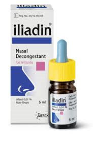 Iliadin 0.01% Nasal Drops Infant 5ml