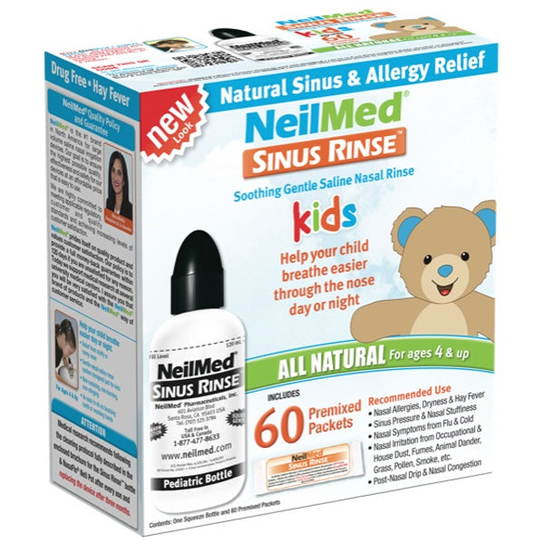 Neilmed  Sinus Rinse Kids Kit 60ct