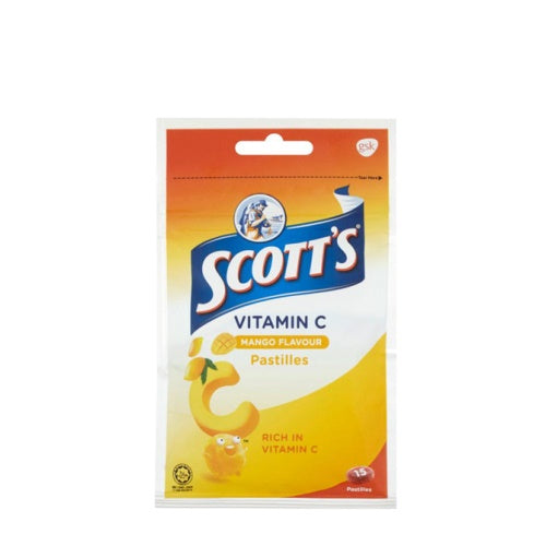 Scotts VitC Orange 30g zipper X 10