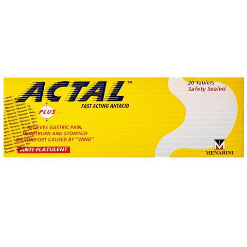 Actal Plus Tablet 20s